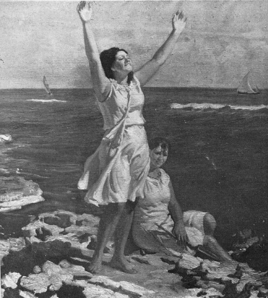 """""""La alegría del mar"""" (1930)"""